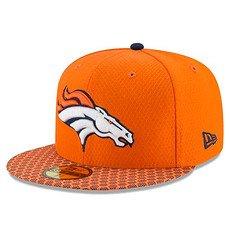 New Era Denver Broncos Cap NFL 59FIFTY Sideline orange