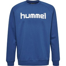 hummel Sweatshirt Cotton Logo blau