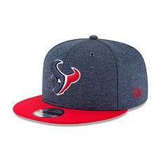 New Era Houston Texans Cap 9FIFTY Sideline 2018 blau