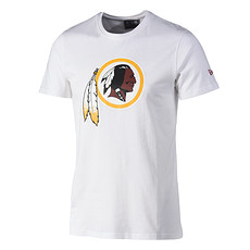 New Era Washington Redskins T-Shirt Team Logo weiß