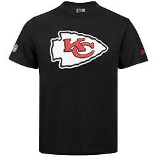 New Era Kansas City Chiefs T-Shirt Team Logo schwarz