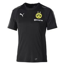 Puma Borussia Dortmund Trainingsshirt Team schwarz