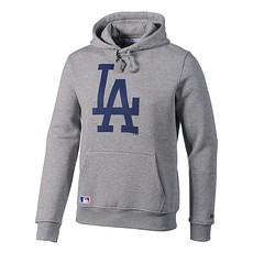 New Era Hoodie Los Angeles Dodgers hellgrau