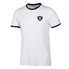 New Era Las Vegas Raiders T-Shirt Ringer weiß