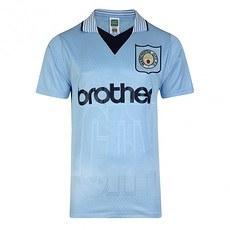 Scoredraw Manchester City Retro Trikot 1996