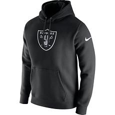 Nike Oakland Raiders NFL Club Hoodie Schwarz