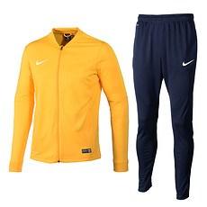 Nike Trainingsanzug Classic Gelb/Dunkelblau