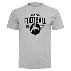 PICK SIX T-Shirt FOOTBALL CLASSIC Grau