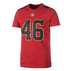 New Era San Francisco 49ers T-Shirt Number rot