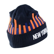 New Era New York Knicks Beanie Knit blau/orange