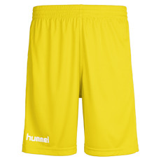 hummel Shorts Core Poly gelb