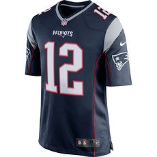 Nike New England Patriots TOM BRADY 12 Trikot Heim 2019/2020 Blau