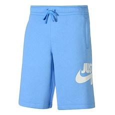 Nike Shorts Sportswear Basic blau/weiß