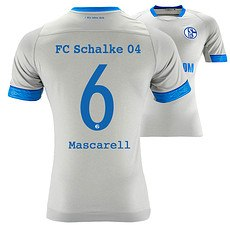 Umbro FC Schalke 04 Auswärts Trikot MASCARELL 18/19 Kinder