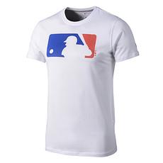 New Era T-Shirt MLB Logo weiß