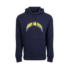 New Era Los Angeles Chargers Hoodie Team Logo blau