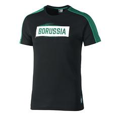 Puma Borussia Mönchengladbach T-Shirt Stencil schwarz