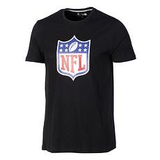 New Era NFL Shield T-Shirt Lightweight Cotton schwarz