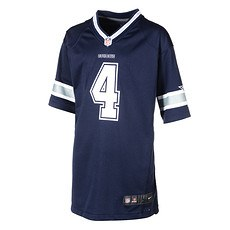 Nike Dallas Cowboys Trikot Team PRESCOTT 4 Kinder blau
