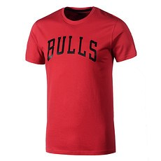 New Era Chicago Bulls T-Shirt Pop Logo rot
