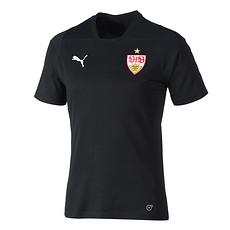 Puma VfB Stuttgart T-Shirt Casual schwarz/rot