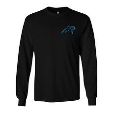Majestic Athletic Carolina Panthers Longsleeve Realm of Champions schwarz