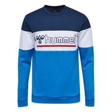 hummel Sweatshirt Matti hellblau/blau/weiß