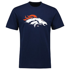 Majestic Athletic Denver Broncos T-Shirt Splatter navy