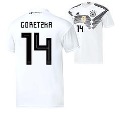 Adidas Deutschland WM 2018 DFB Trikot Heim GORETZKA