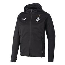 Puma Borussia Mönchengladbach Zip-Hoodie Casual schwarz