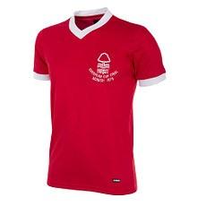 Copa Nottingham Forest 1979 EC Final Short Sleeve Retro Shirt