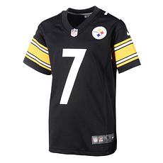 Nike Pittsburgh Steelers BEN ROETHLISBERGER 7 Trikot Kinder schwarz