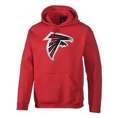 Majestic Athletic Atlanta Falcons Hoodie Domestic Hyper Colour rot