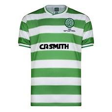 Scoredraw Celtic Glasgow Retro Trikot 1985 Scottish Cup Finale