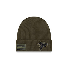 New Era Atlanta Falcons Beanie Salute To Service grün
