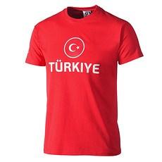 Türkei T-Shirt EURO 2016 rot