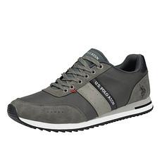 U.S. POLO ASSN. Sneaker Vance grau