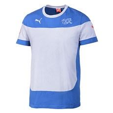 Puma Schweiz T-Shirt Leisure Blau