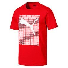 Puma T-Shirt Repeat Rot