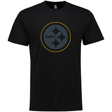 Majestic Athletic Pittsburgh Steelers T-Shirt Tanser schwarz