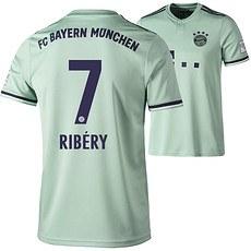Adidas FC Bayern München Auswärts Trikot 2018/2019 Kinder RIBÉRY