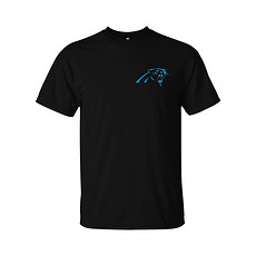 Majestic Athletic Carolina Panthers T-Shirt Realm of Champions schwarz