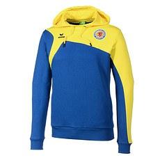 Erima Eintracht Braunschweig Hoodie Club 1900 2.0 blau/gelb