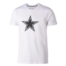 New Era Dallas Cowboys T-Shirt Fan Pack weiß