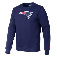 New Era Sweatshirt New England Patriots Logo blau