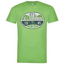 VfL Wolfsburg T-Shirt Stempel grün