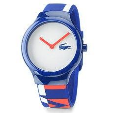 LACOSTE Armbanduhr Goa Blau/Weiß
