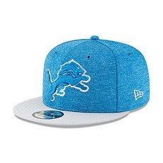 New Era Detroit Lions Cap 9FIFTY Sideline blau