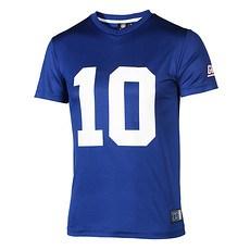 Majestic Athletic New York Giants PolyMesh T-Shirt Manning Nr 10 blau