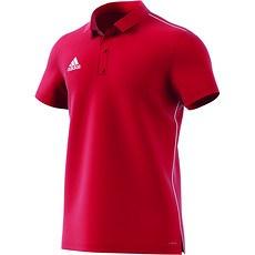 Adidas Poloshirt Core 18 Rot
